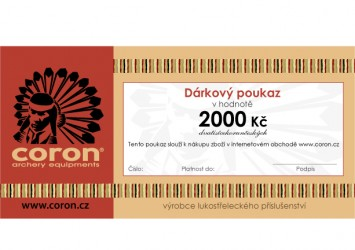 DÁRKOVÝ POUKAZ 2.000 Kč